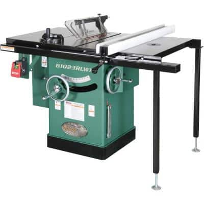 10 in. 5 HP 240-Volt Cabinet Left-Tilting Table Saw