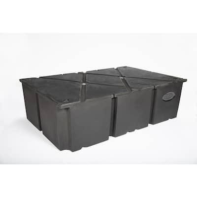 48 in. x 72 in. x 16 in. Dock System Float Drum
