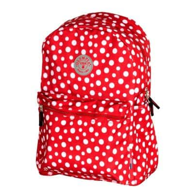 Cornell 18 in. Red Dot Backpack with Laptop Compartment