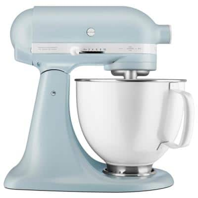 Limited Edition Heritage Artisan Series 5 Qt. 10-Speed Misty Blue Stand Mixer