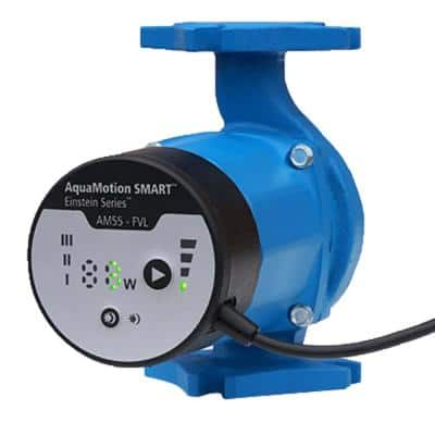Cast Iron Variable Speed ECM Pump with 4-Bolt Flange and Built-In Check Valve