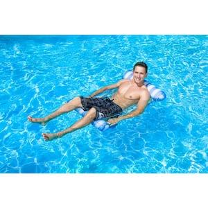 Blue Water Hammock Swimming Pool Float Lounge