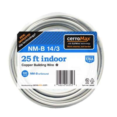 25 ft. 14/3 NM-B Wire
