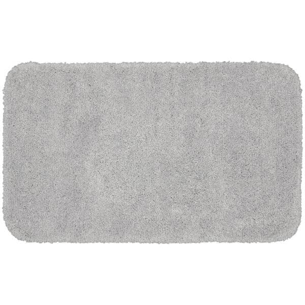 Garland Rug Serendipity Platinum Gray, 30 X 50 Bathroom Rugs