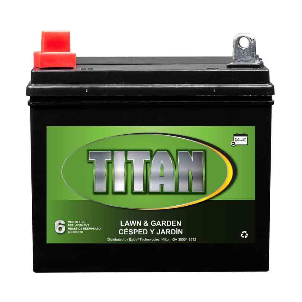 TITAN 12-Volt U1 Tractor Battery
