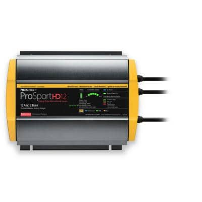 ProSportHD 12 Amp On-Board Waterproof Battery Charger