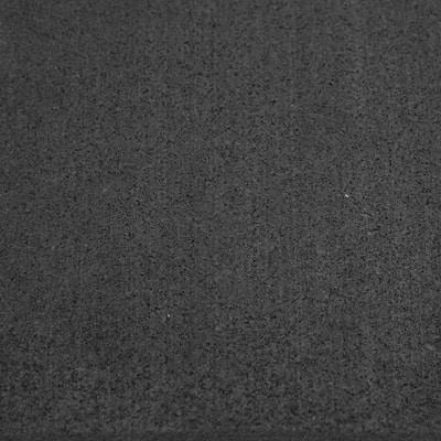 Elephant Bark Black 3/16 in. T x 48 in. W x 156 in. L Rubber Flooring (52 sq. ft.)