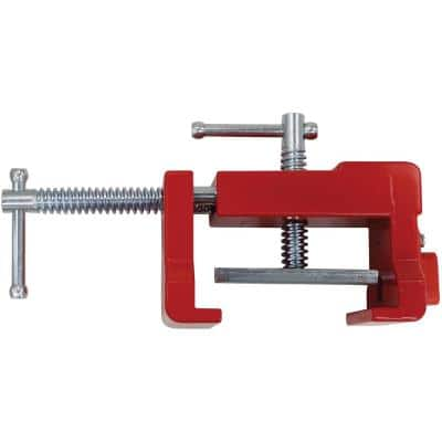4 in Capacity Cabinetry Clamp for Aligning Face Framed Box Cabinets with 1-1/4 in. Throat Depth