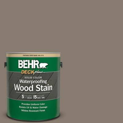 1 gal. #SC-159 Boot Hill Grey Solid Color Waterproofing Exterior Wood Stain