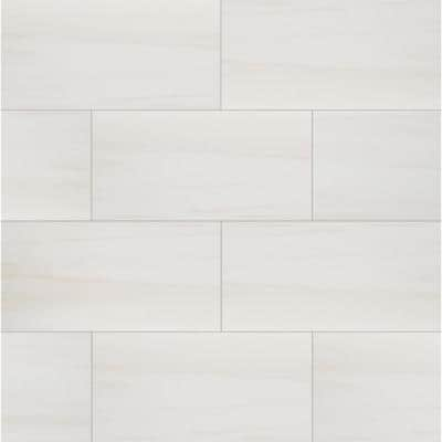 Eden Dolomite 12 in. x 24 in. Polished Porcelain Floor and Wall Tile (16 sq. ft./Case)