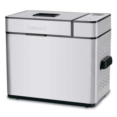 2 lb. Stainless Steel Bread Maker with Jam Setting