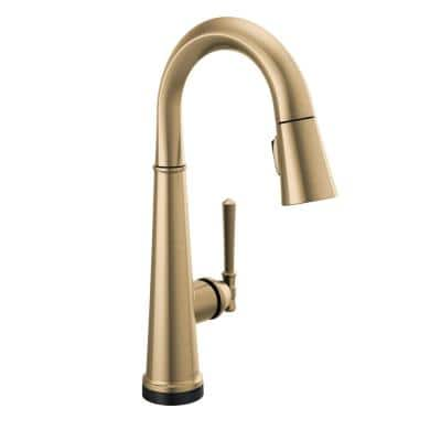 Emmeline Single-Handle Bar Faucet with Touch2O in Lumicoat Champagne Bronze