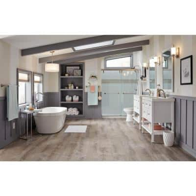 Sterling Oak 8.7 in. W x 47.6 in. L Luxury Vinyl Plank Flooring (20.06 sq. ft. / case)