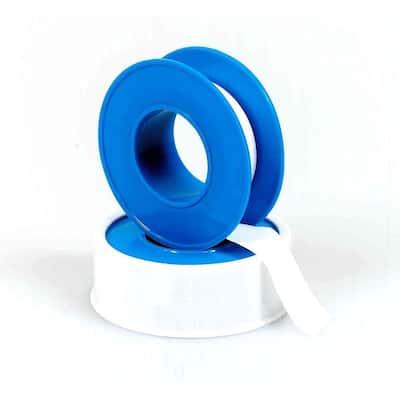 1/2 in. x 520 in. White PTFE Tape
