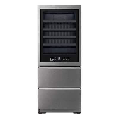 65-Bottle Freestanding Wine Cellar Smart Beverage Cooler with InstaView & Auto-Open Door, Counter Depth