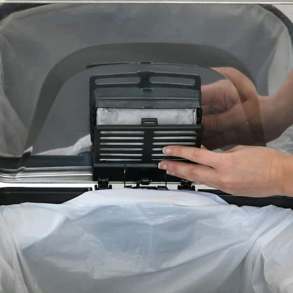 Halo Deodorizer Carbon Filter For Trash Can Models 3 Pack Ho12cf3 The Home Depot