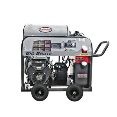 Big Brute 4000 PSI at 4.0 GPM Hot Water VANGUARD V-Twin Gas Pressure Washer with COMET Triplex Plunger Pump