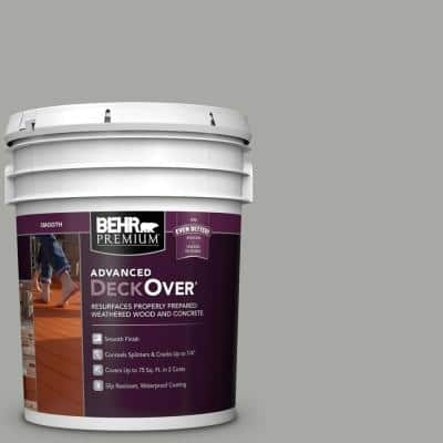 5 gal. #PFC-68 Silver Gray Smooth Solid Color Exterior Wood and Concrete Coating