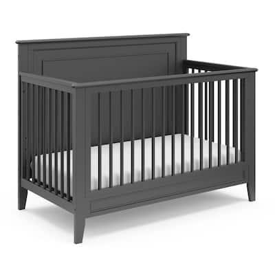 Solstice Gray 4 in-1-Convertible Crib