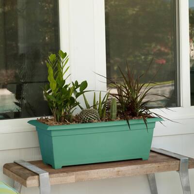 Dayton 9.3 in. x 26.8 in. Jungle Plastic Window Box