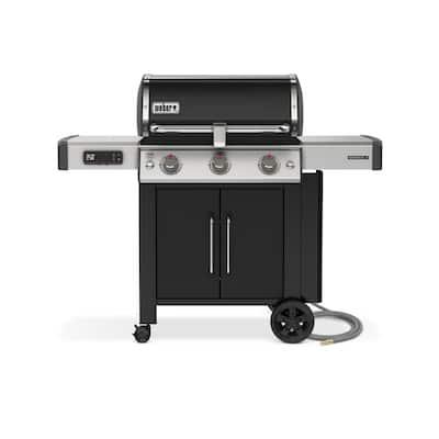 Weber Genesis II EX-315 3 Burner Natural Gas Smart Grill - Black