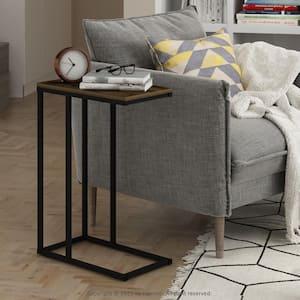 Camnus Modern Living Columbia Walnut Sofa Side Table
