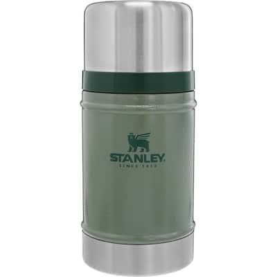 Classic 24 oz. Hammertone Green Stainless Steel Vacuum Insulated Food Jar