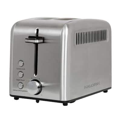 1400-Watt 2-Slice Stainless Steel Wide Slot Rapid Toaster