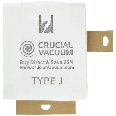 3-Pack Replacement J Bags, Fits Eureka, Compatible with Part 61515C-6