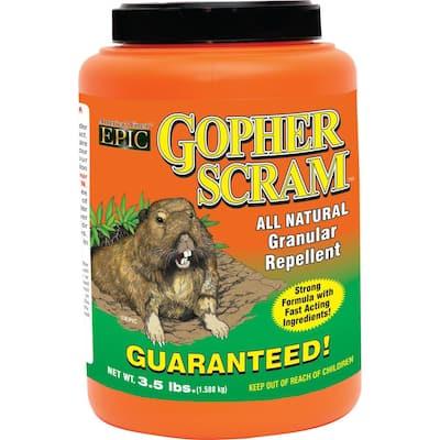 3.5 lbs. Granular Gopher Repellent Shaker Jug