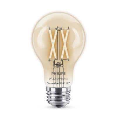 Soft White A19 LED 40W Equivalent Dimmable Smart Wi-Fi Wiz Connected Wireless Light Bulb