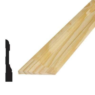 11/16 in. x 4-1/4 in. x 96 in. Pine Finger-Jointed Casing Moulding