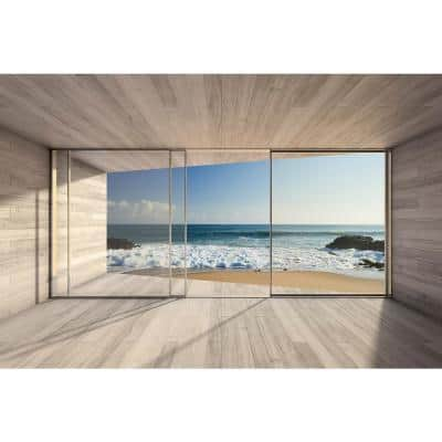 Scenic Large Window Landscapes Wall Mural