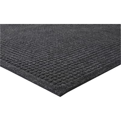 EcoGuard Charcoal Gray 24 in. x 36 in. Indoor Wiper Commercial Floor Mat