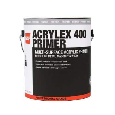 Acrylex 400 1 Gal. Multi-Surface Professional-Grade Acrylic Primer