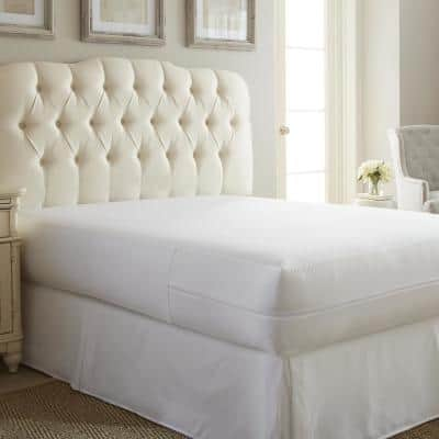 Premium Full Bed Bug and Spill Proof Zippered Microfiber Mattress Protector