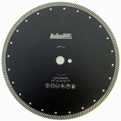 14 in. Narrow Turbo Diamond Blade for Granite Cutting