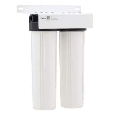 Home Master Whole House Two Stage, Fine Sediment and Carbon Water Filtration System