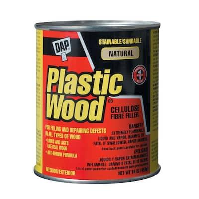 Plastic Wood 16 oz. Natural Solvent Wood Filler