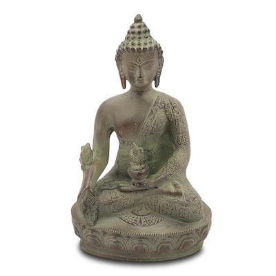 Devoted Buddha Garden Statue