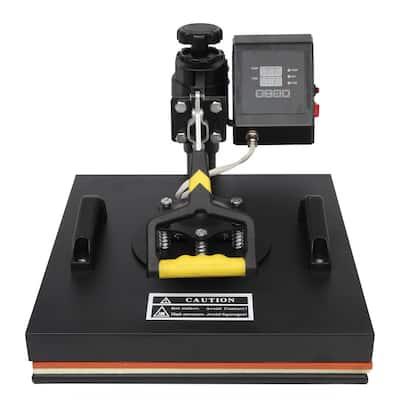 5 in 1 15 in. x 15 in. Digital Heat Press Transfer Sublimation Machine