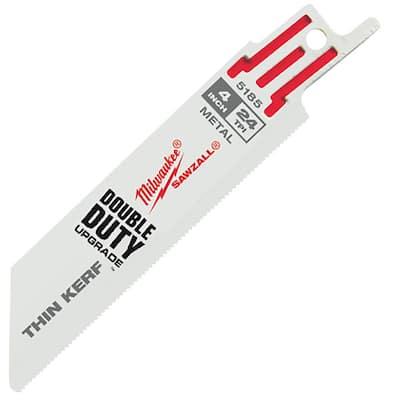 4 in. 24 Teeth per in. Thin Metal Cutting SAWZALL Reciprocating Saw Blades (25 Pack)