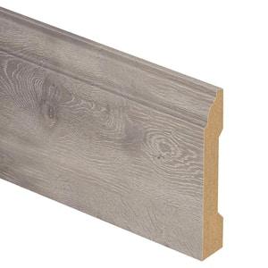 Terrado Oak 9/16 in. Thick x 3-1/4 in. Wide x 94 in. Length Laminate Base Molding