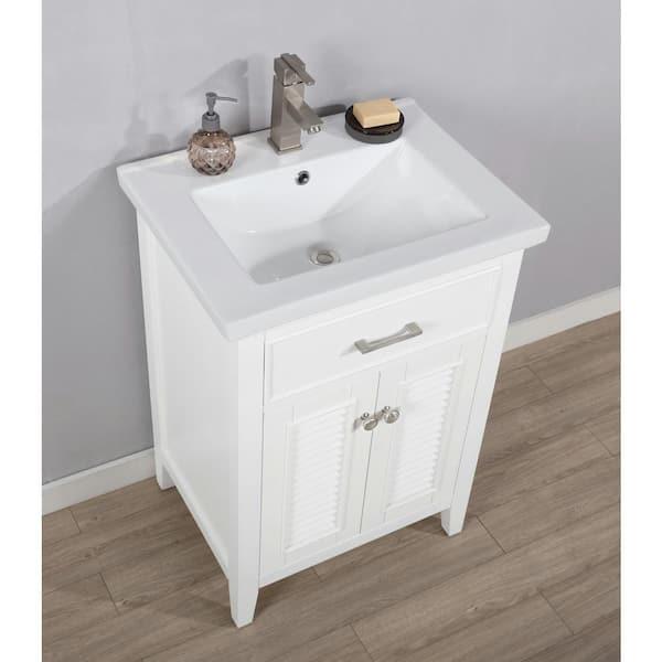 Design Element Cameron 24 In W X 18 5, 65 Wide Bathroom Vanity