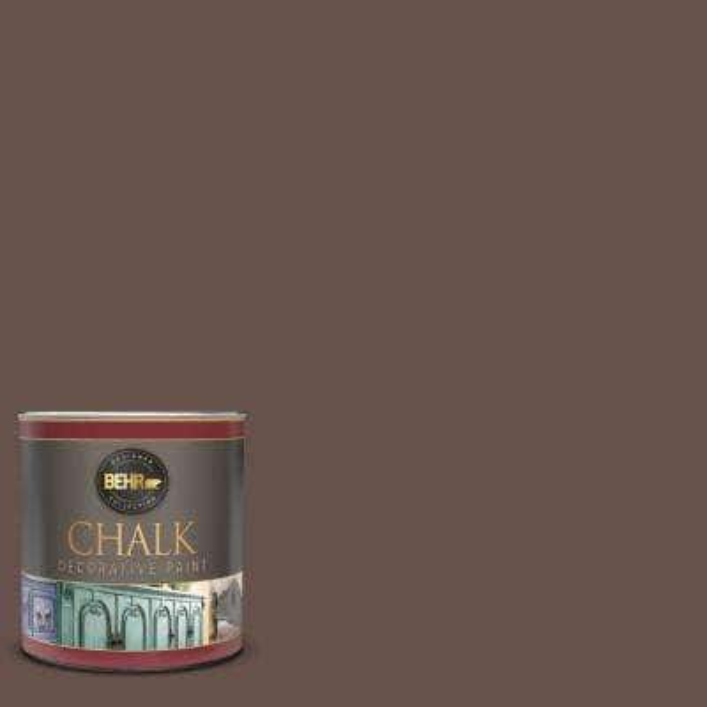 1 qt. #PPU5-18 Chocolate Swirl Interior Chalk Decorative Paint