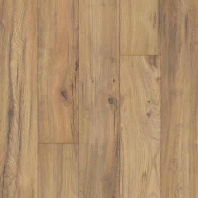 Outlast+ 6.14 in. W Golden Rustic Oak Waterproof Laminate Wood Flooring (967.2 sq. ft./pallet)