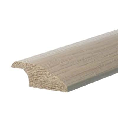 Solid Hardwood Tesa 0.38 in. T x 2 in. W x 78 in. L Reducer Molding