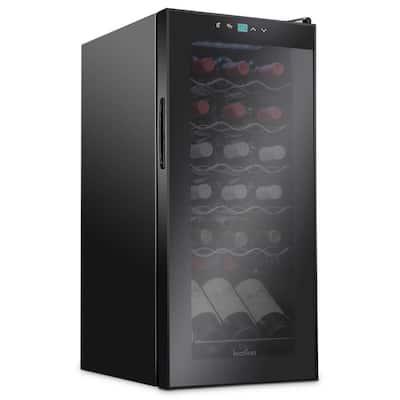 13.6 in. 18-Bottle Compressor Freestanding Wine and Beverage Cooler