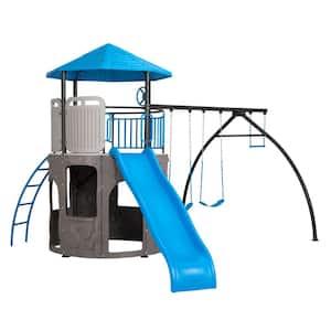 Adventure Tower Deluxe Swing Set