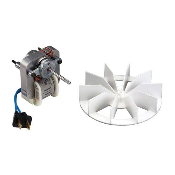 Broan Nutone Replacement Motor And Impeller For 659 And 678 Bathroom Exhaust Fans S97012038 The Home Depot
